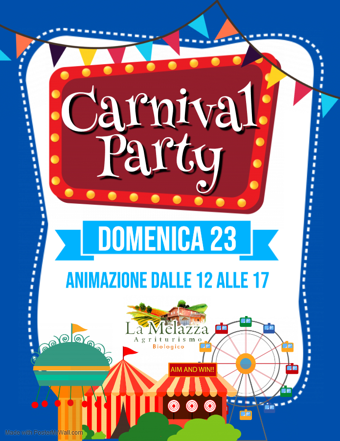 Copia di Carnival Party Flyer - Fatto con PosterMyWall